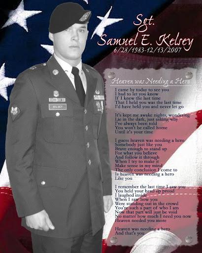 Sgt Sam E Kelsey