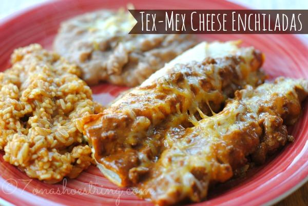 Family Recipe – Easy Tex-Mex Cheese Enchiladas