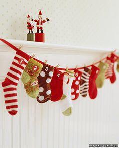 {Pinterest Pins} Advent Calendar Ideas – Christmas Crafts