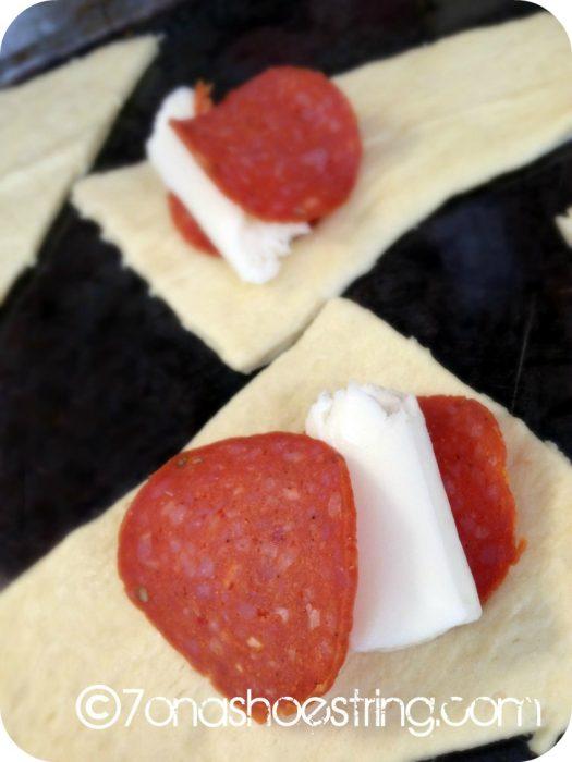 Snack Time Pepperoni Pizza Rolls Recipe