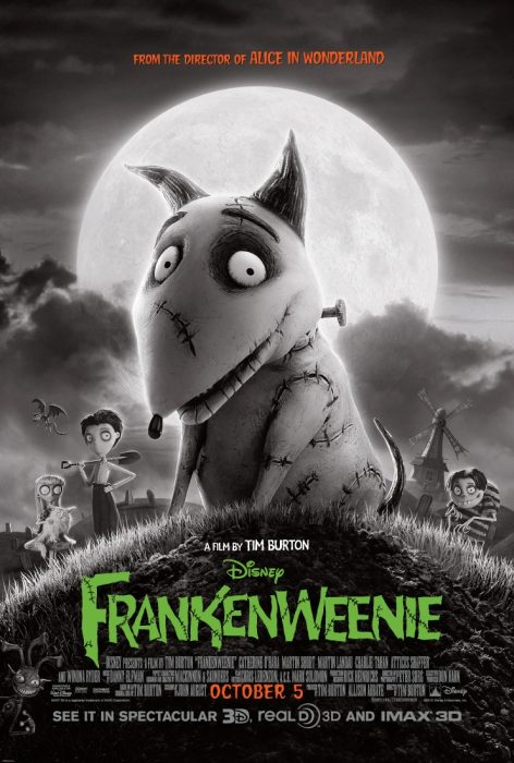 Fun Production Notes About Frankenweenie
