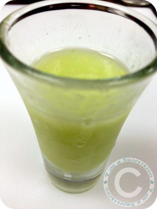 avocado coconut drink