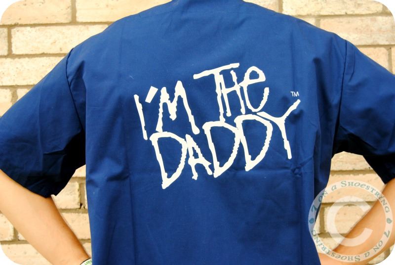Perfect Gift for New Dads from Daddy Scrubs
