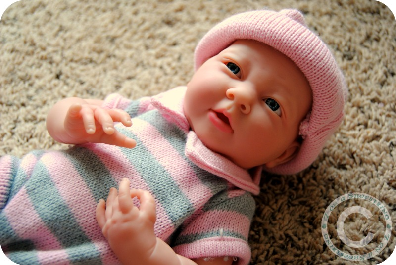 Realistic Baby Doll from JC Toys