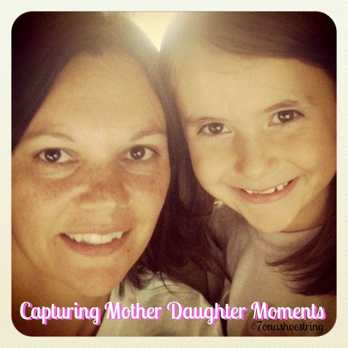 Capturing Mother Daughter Moments