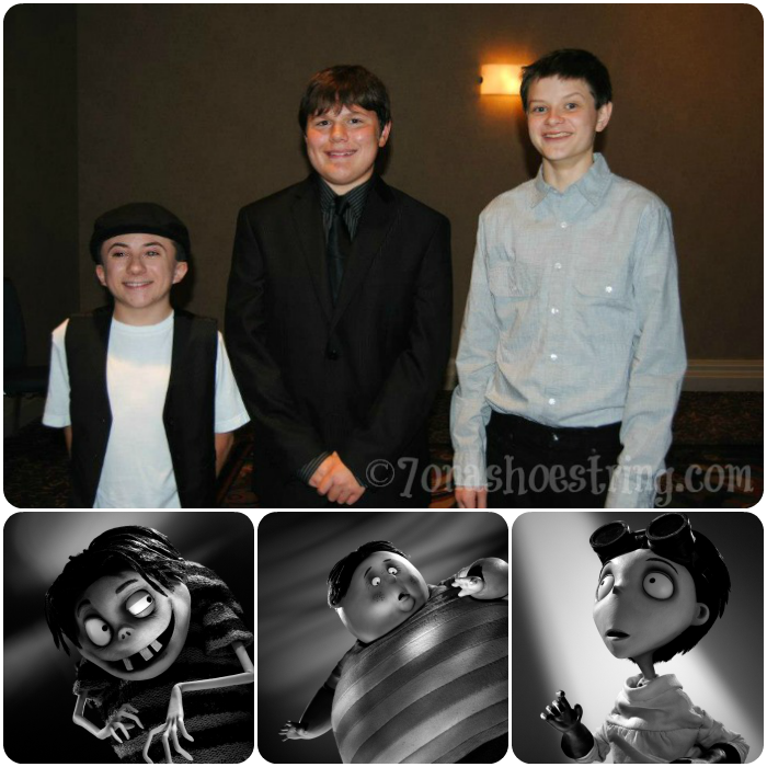 Talking with the Young Men of Frankenweenie – Charlie Tahan