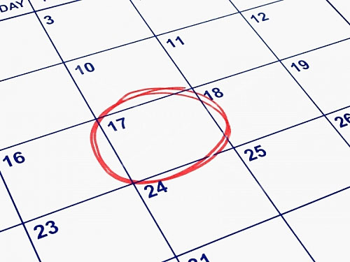 Keep a Calendar for Tracking Your Period