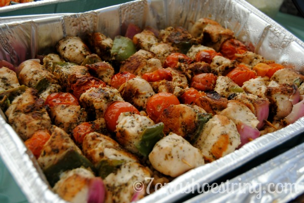 Zoes Kitchen Chicken Kabob homestyle catering and exceptional service from zoës kitchen