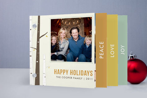 Holiday Minibook Cards
