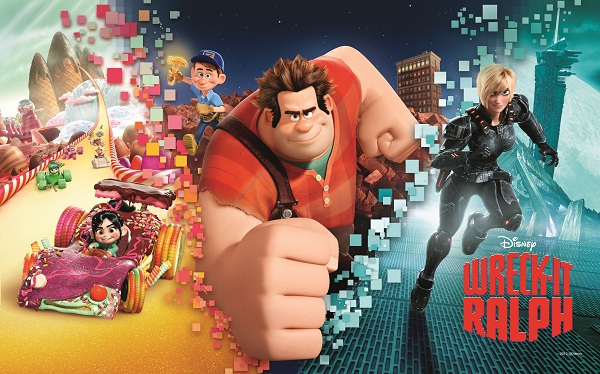 Video Game Characters Unite in Disney's Wreck-It Ralph