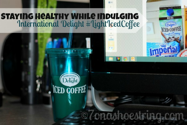 light iced coffee