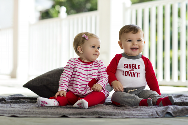 Celebrate Baby's First Valentine's Day with Carter's