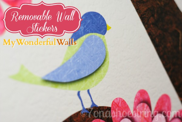 Removable Wall Stickers for Kids Rooms from My Wonderful Walls