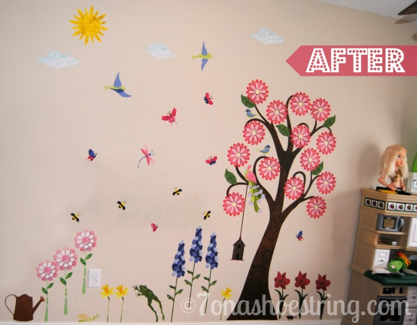 removable wall mural
