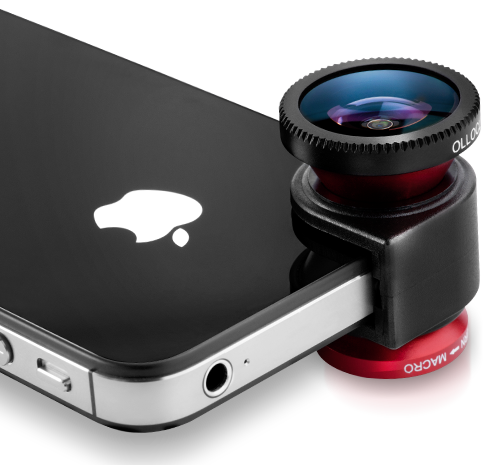 Camera Lens for iPhone from Olloclip