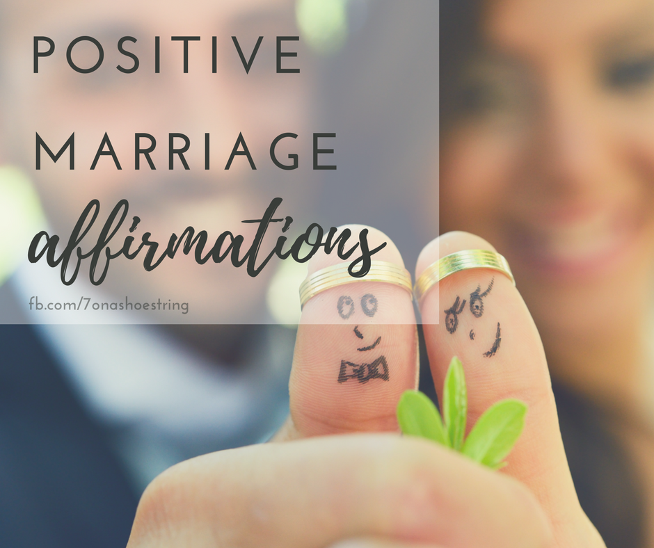 Marriage Affirmations for Couples