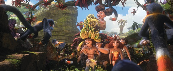 Meet The Croods on Blu-Ray or DVD