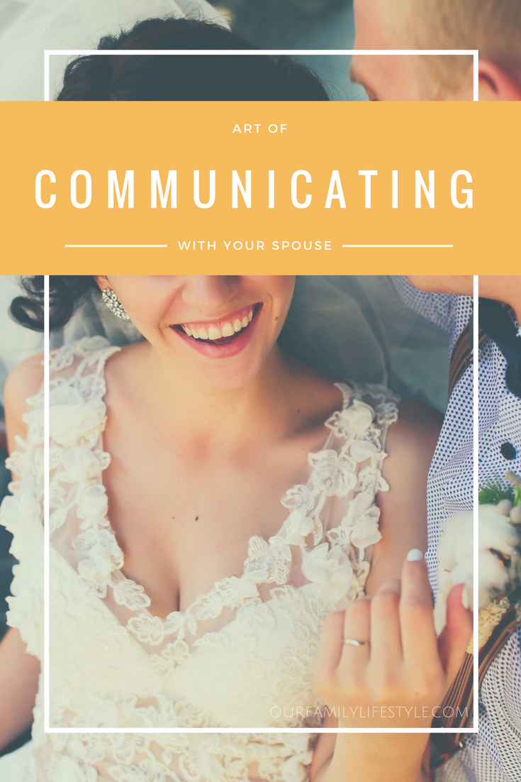 art of communicating with your spouse