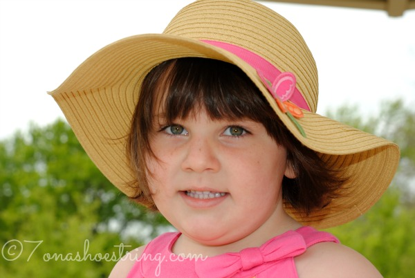 Dragonfly Straw Sunhat from Gymboree