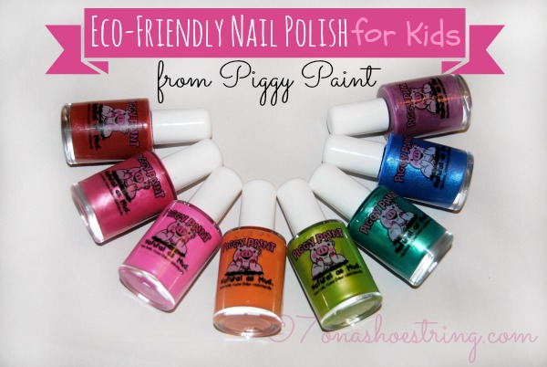Eco-Friendly Nail Polish for Kids from Piggy Paint