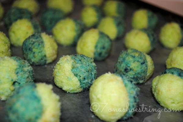 Sprite cake balls