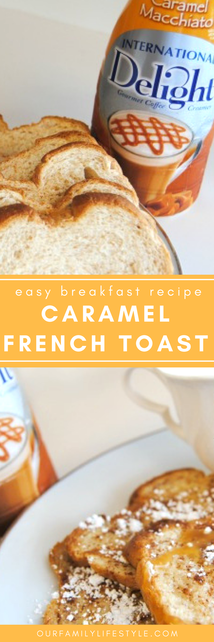 Combining traditional french toast with the smooth-tasting flavor of caramel gives you the perfect Caramel French Toast Recipe.