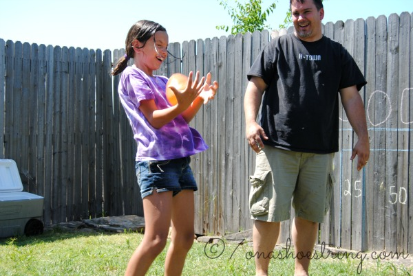 fun Water Balloon Toss