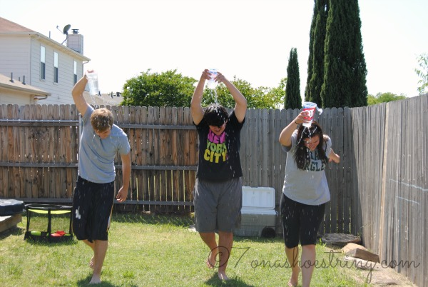 Field Day water games