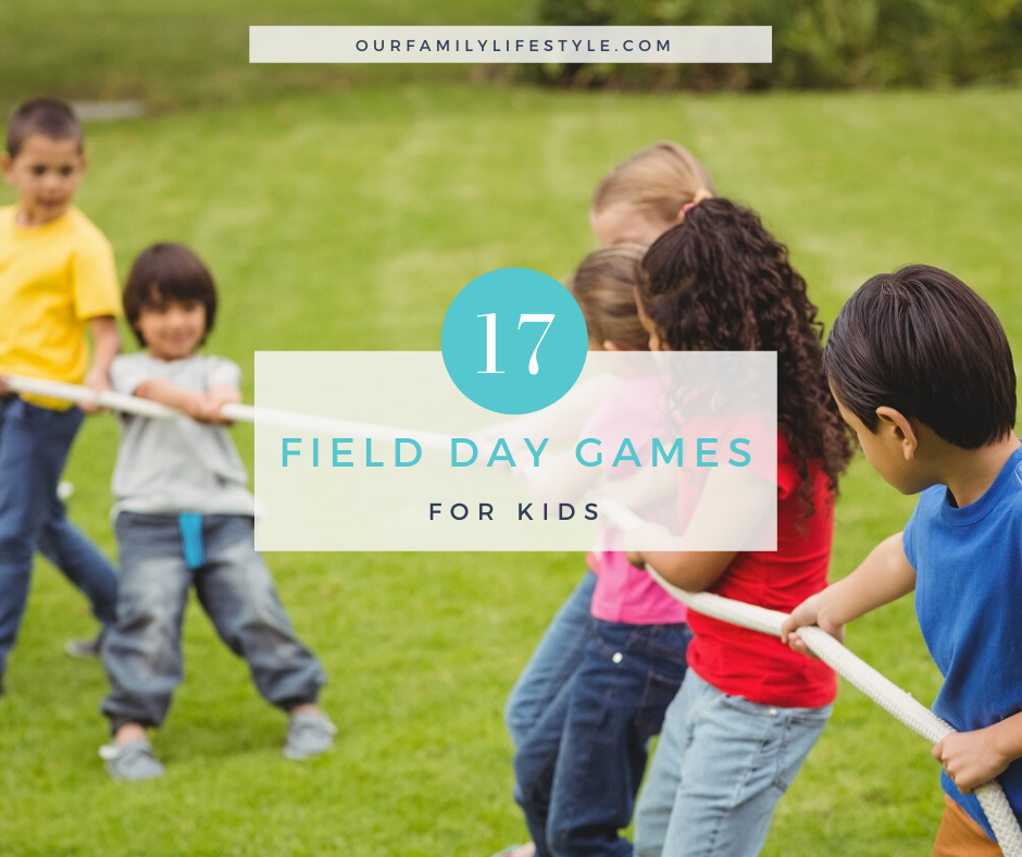 Field Day Games for Kids