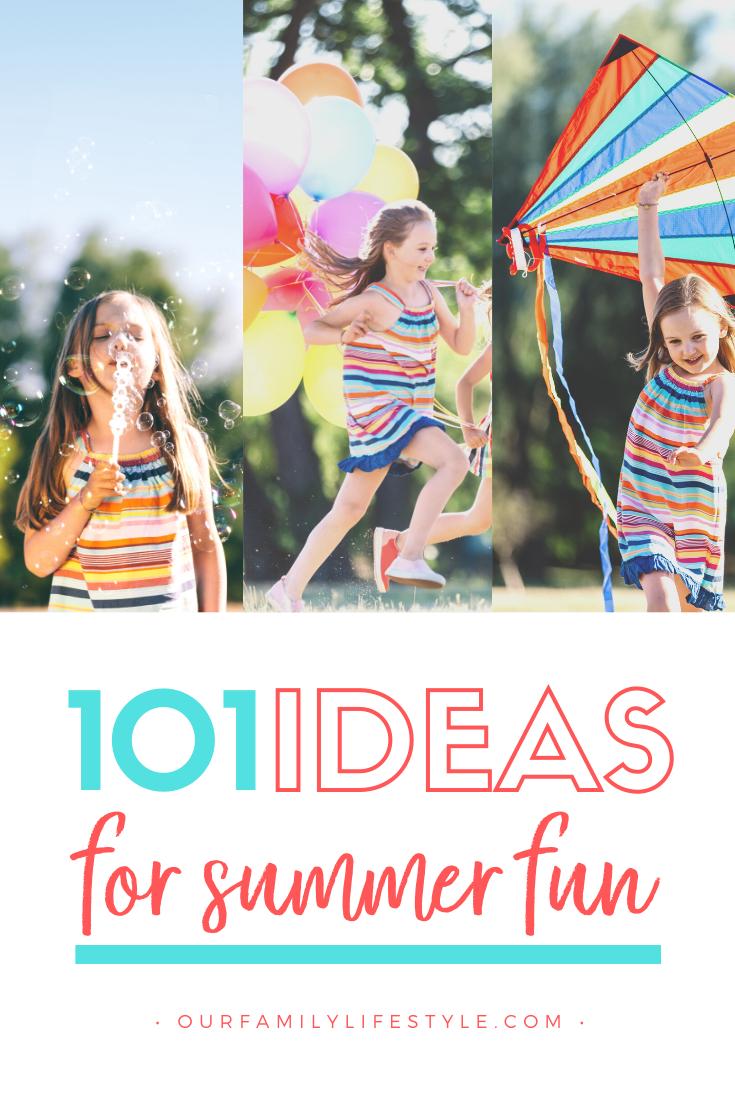 101 Summer Activities for Kids