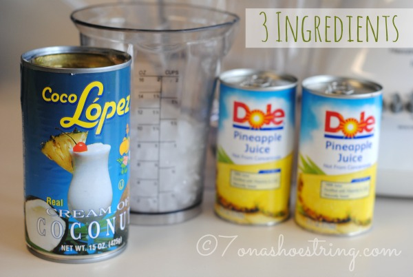 pina colada recipe easy