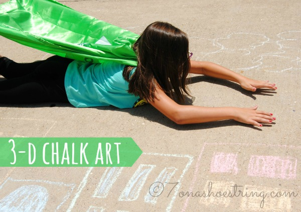 sidewalk chalk games 3D Chalk Art
