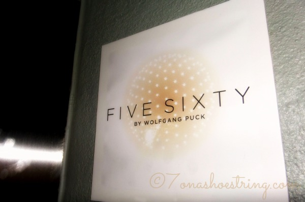 Five Sixty Restaurant