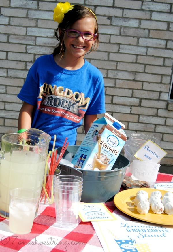 lemonade coffee stand