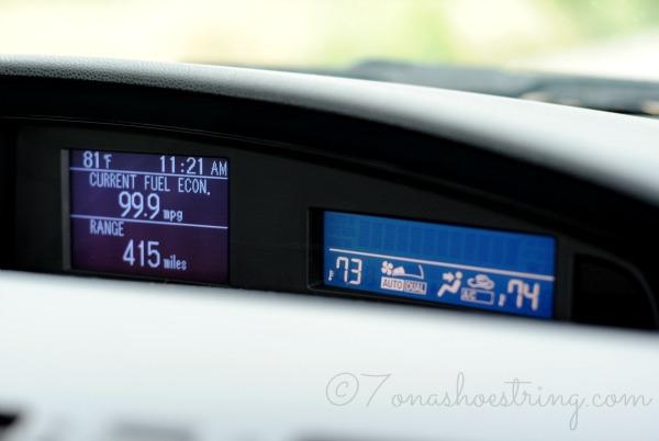 Mazda3 fuel