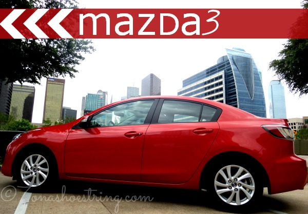 Comfort and Style in 2013 Mazda3 i Grand Touring