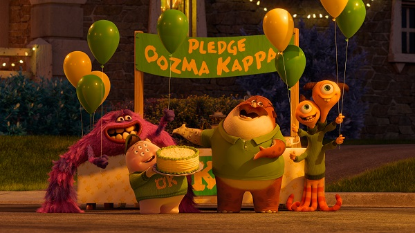 Oozma Kappa Fraternity At Monsters University Our Family Lifestyle