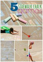 5 Sidewalk Chalk Games to Keep You Playful #GoGoPlayfully