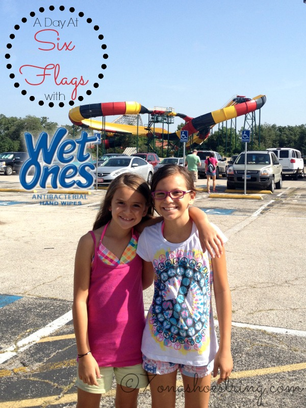 A Day at Six Flags Over Texas with Wet Ones