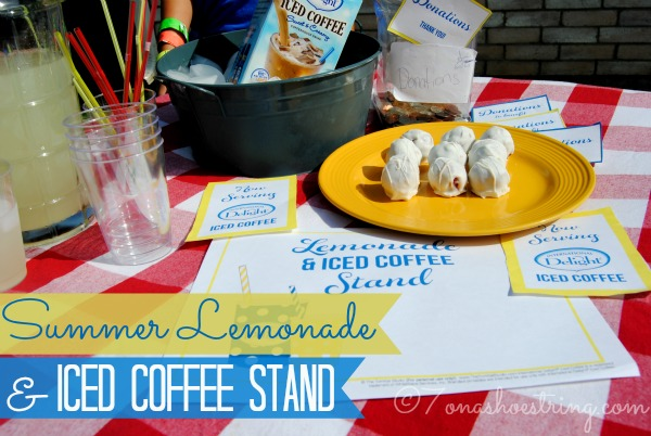 Summer Lemonade Iced Coffee