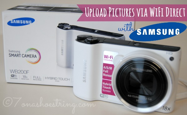 Upload Pictures via WiFi Direct with Samsung WB200