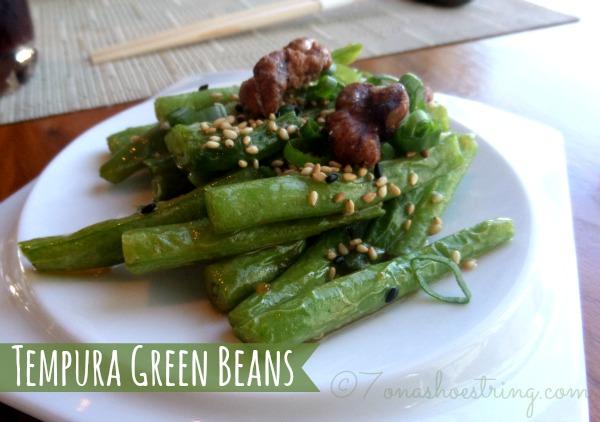 Tempura Green Beans
