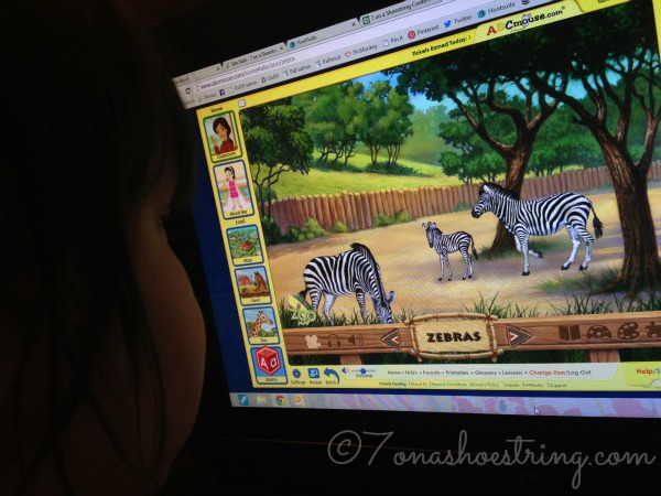 ABCMouse animals