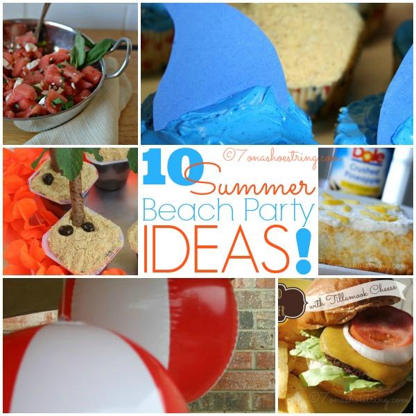 Summer Beach Party Ideas