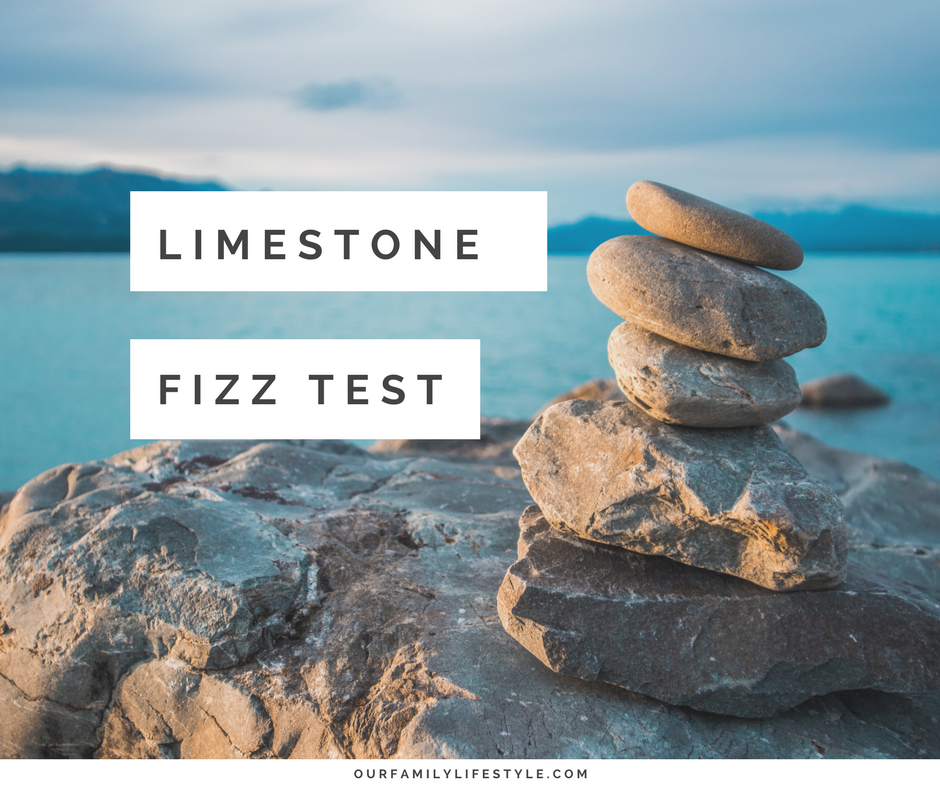 Conduct a Limestone Fizz Test with the Kids