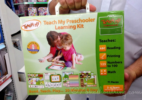 preschooler learning kit #teachmy