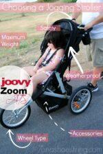 Choosing a Jogging Stroller : Joovy Zoom ATS