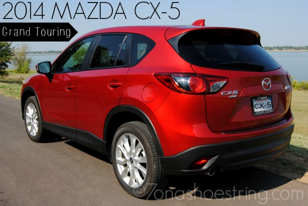 Compact Size with Roomy Feel : 2014 Mazda CX-5 Grand Touring