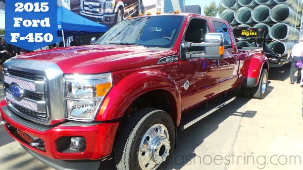 New Generation of Ford Trucks Unveiled for 2015