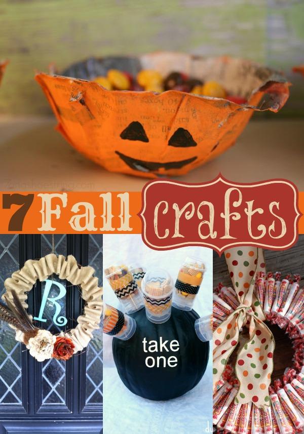 7 Fall crafts
